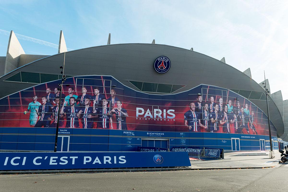 Paris St Germain stadium